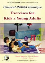 Pilates Exercises for Kids & Young Adults DVD & Pilates Videos