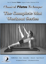 Pilates Mat Workout Series DVD & Pilates DVD
