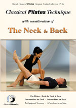 Pilates Neck & Back DVD & Pilates Video