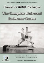 Pilates Universal Reformer Series DVD & Pilates Video